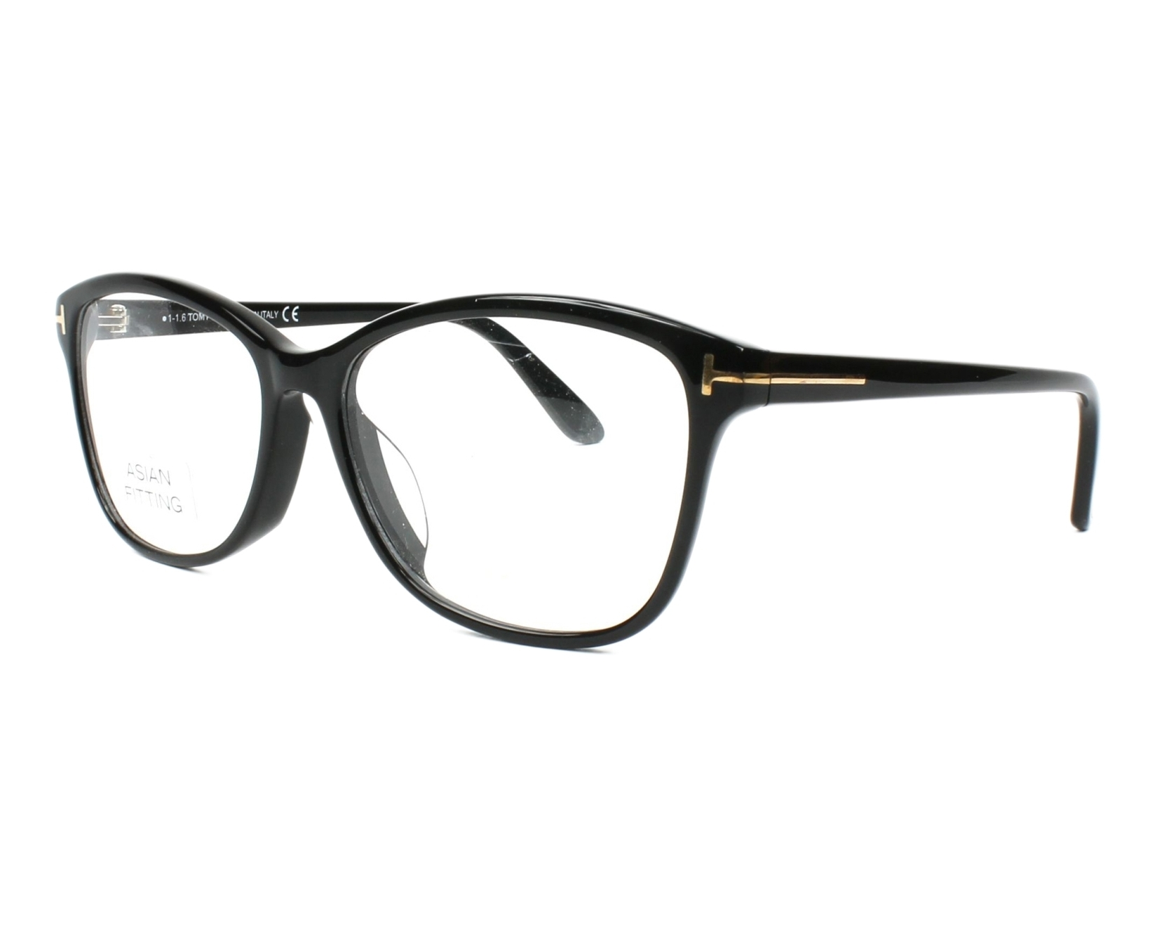 1ca3a1ed019280 Lunettes de vue Tom Ford TF-5404 001 - Noir vue de profil