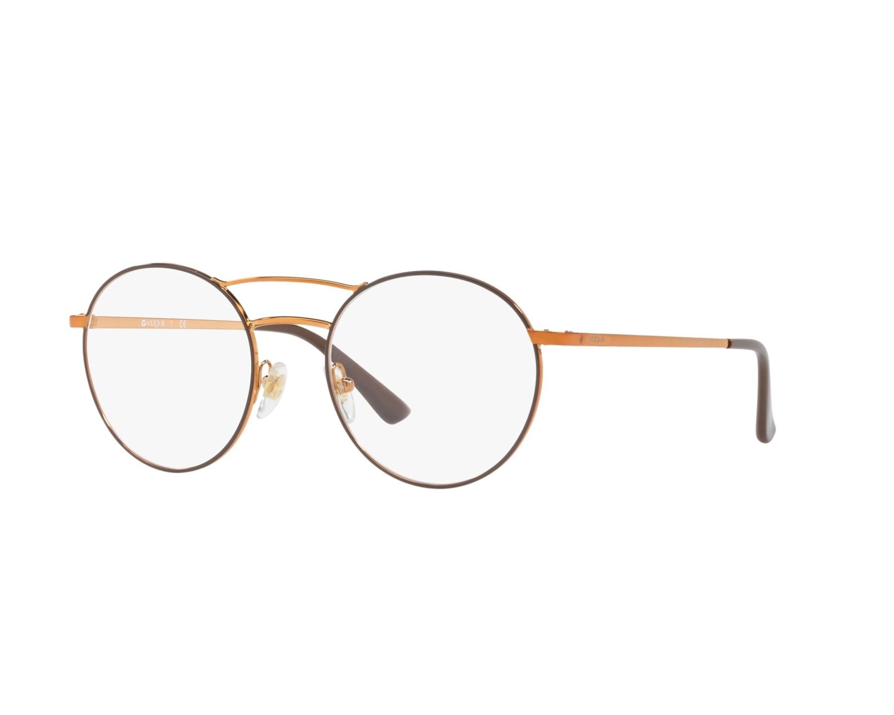 63d1fb3773f13f Lunettes de vue Vogue VO-4059 5021 50-19 Marron Copper