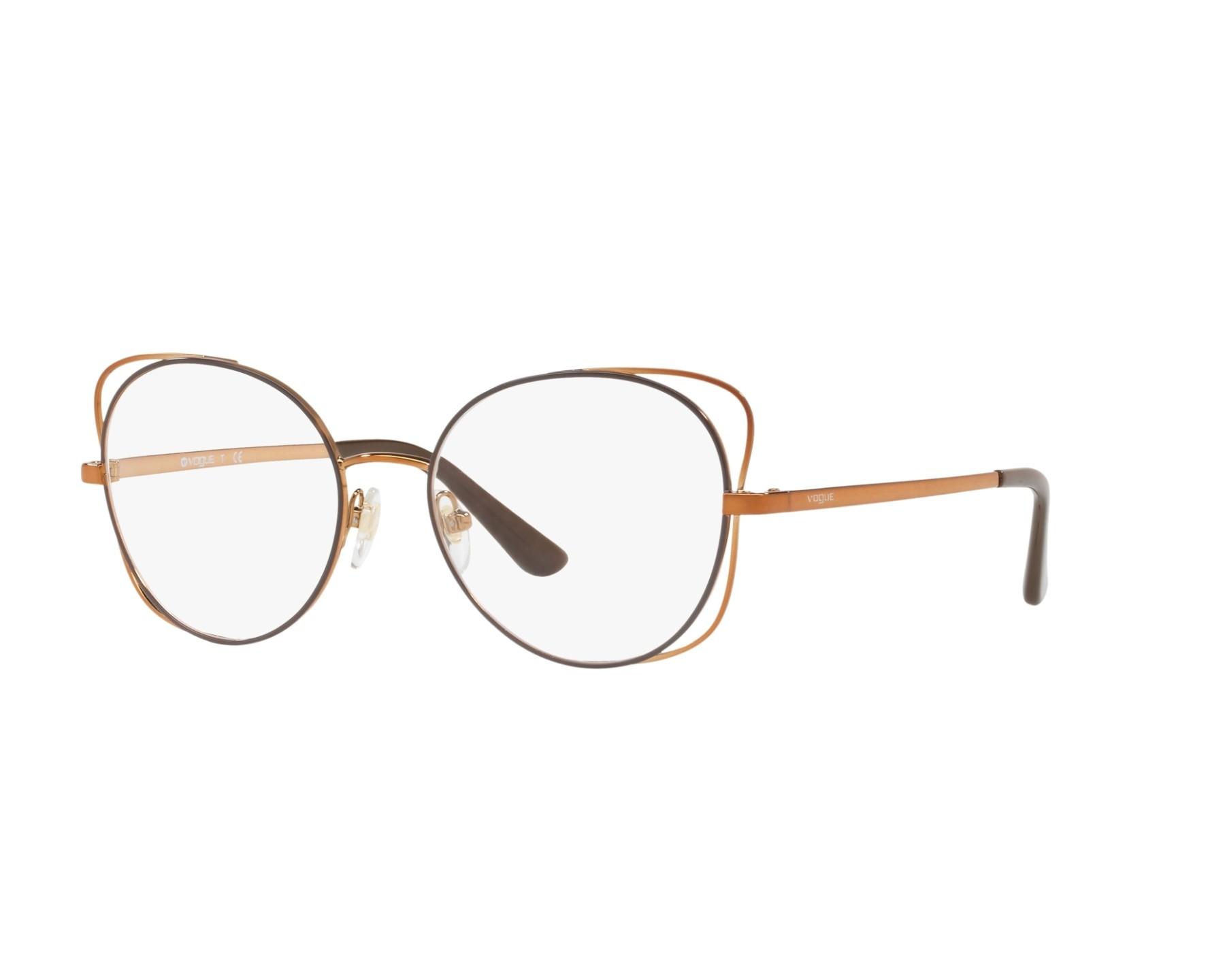 7068a769598df Lunettes de vue Vogue VO-4068 5021 - Marron Copper