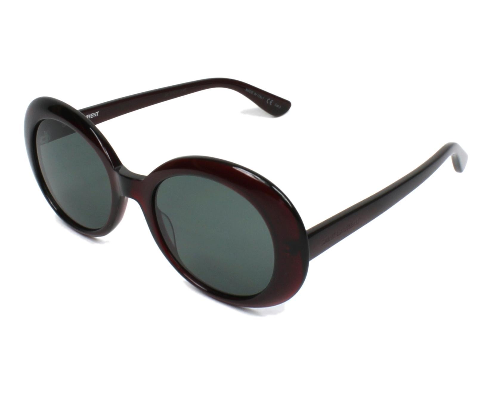 18a8bc500f0 Saint Laurent Sl 98 California Sunglasses White