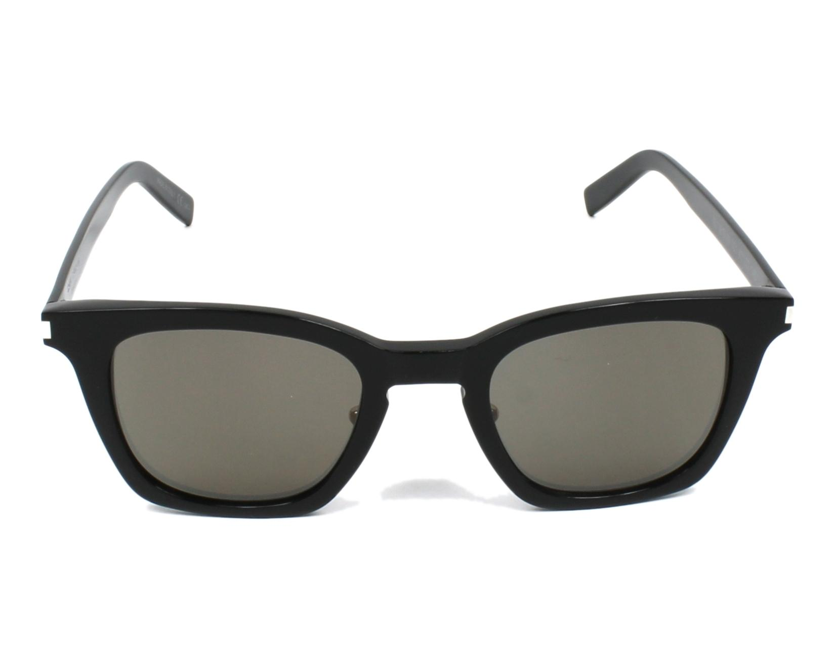 lunettes de soleil yves saint laurent sl 138 slim 001 noir