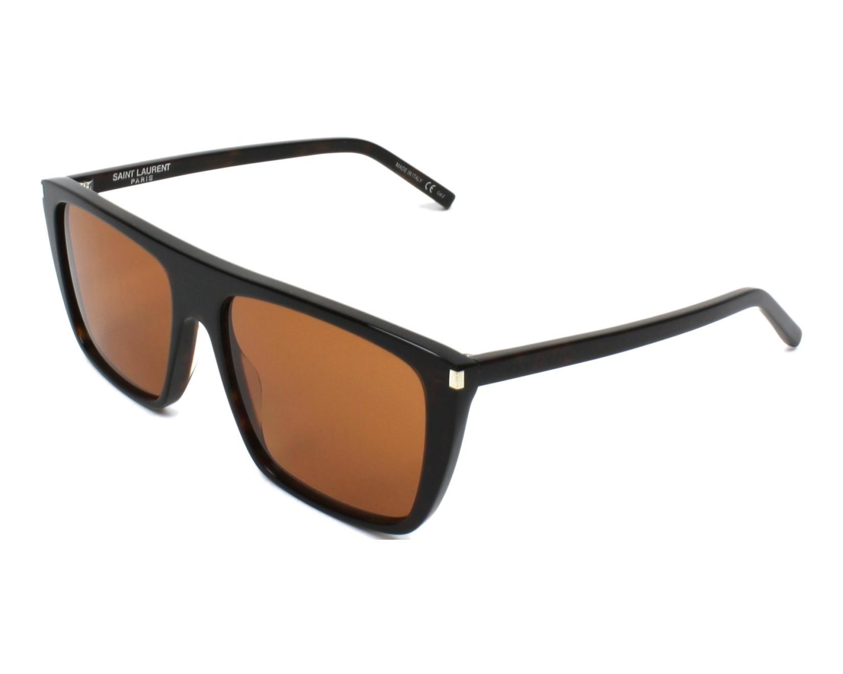 Yves saint laurent sunglasses sl 156 004 havana visionet for Miroir yves saint laurent