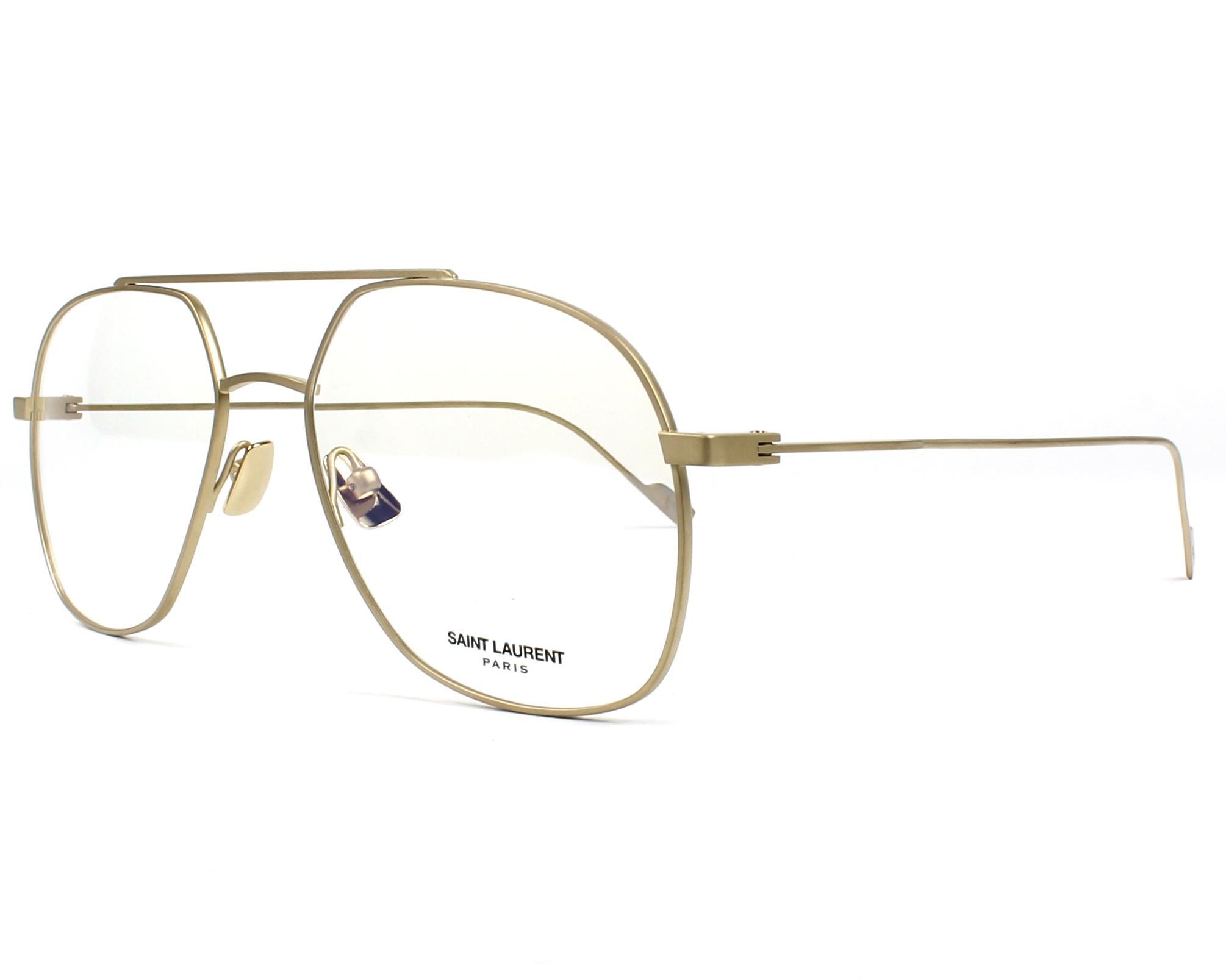 Yves Saint Laurent Eyeglasses Sl 194 T 003 Gold Visionet