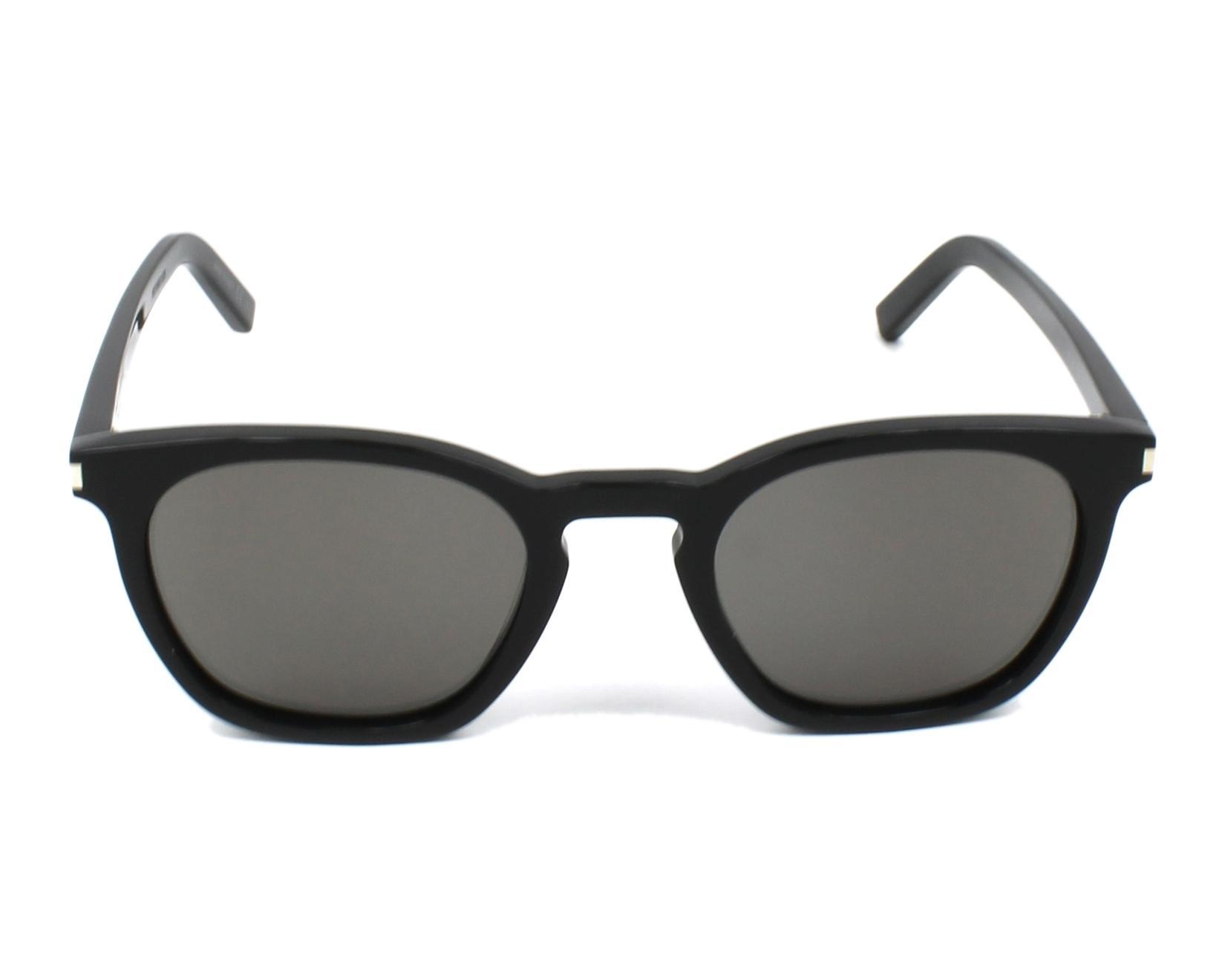lunettes de soleil yves saint laurent sl 28 022 noir avec