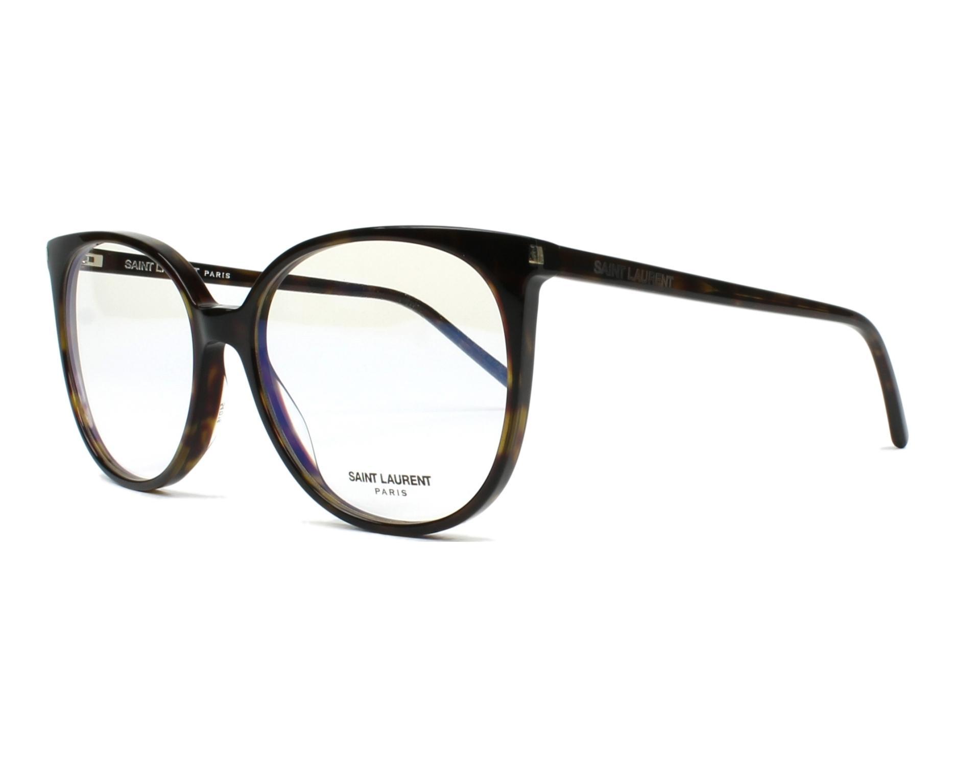 lunettes de vue de yves saint laurent en sl 39 003. Black Bedroom Furniture Sets. Home Design Ideas