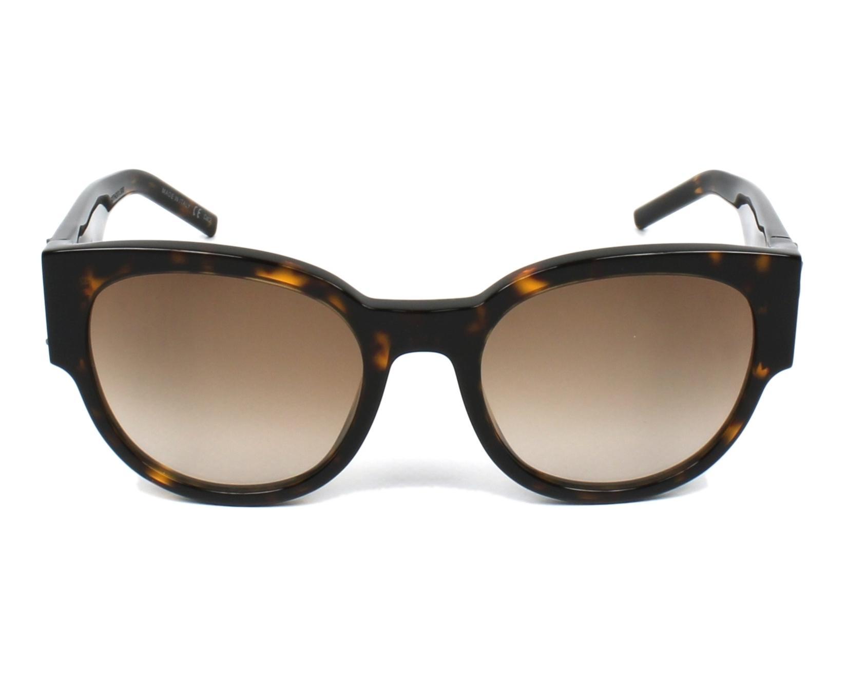 Yves saint laurent sunglasses slm 19 002 havana visionet for Miroir yves saint laurent