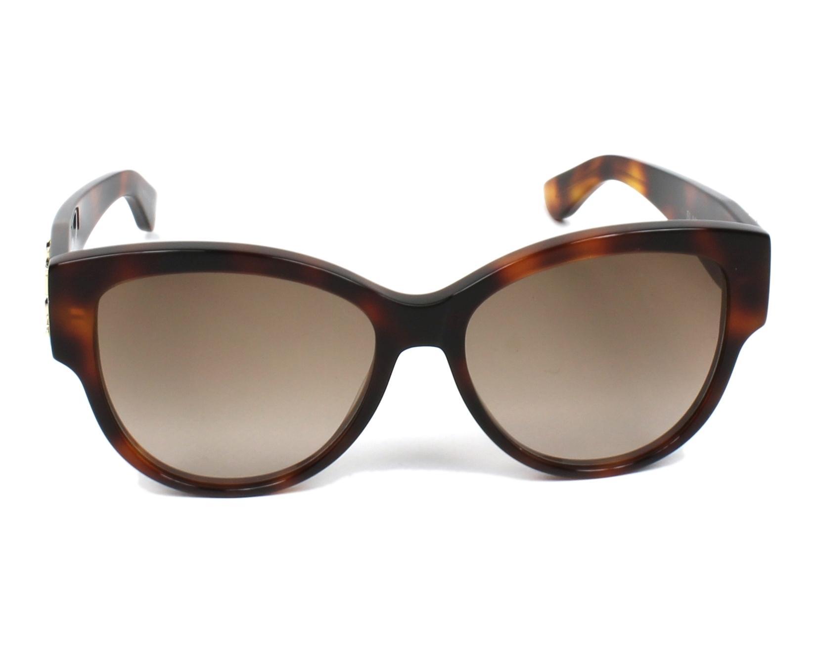 Yves saint laurent sunglasses slm 3 005 havana visionet for Miroir yves saint laurent